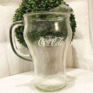 Enjoy Coca-Cola/Coke Pitcher